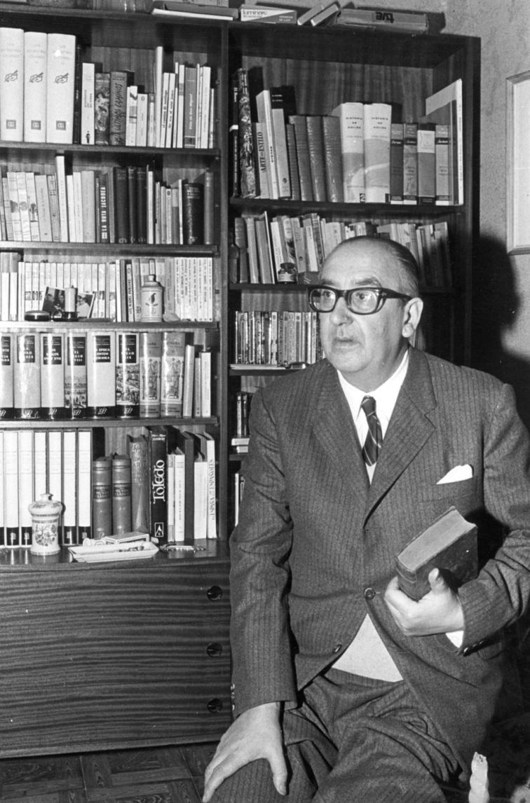 Alvaro Cunqueiro. foto Magar .pj